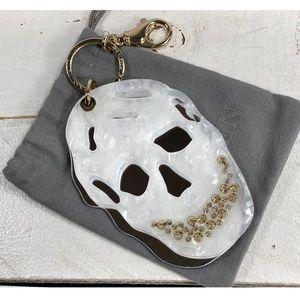 RARE Alexander McQueen Acrylic Crystal Bag Charm